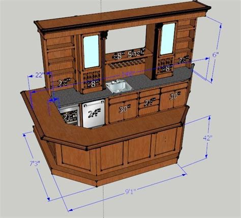 Basement Bar Measurements by Ohio Basements Remodeling Company Bars Wood Furniture