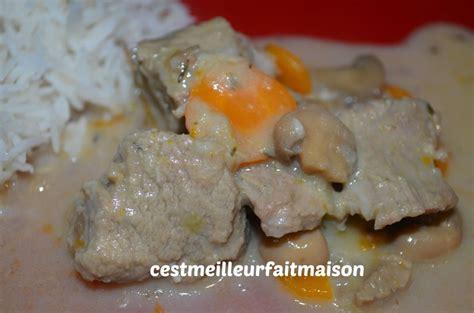 cuisiner une blanquette de veau blanquette de veau thermomix c 39 est meilleur fait maison