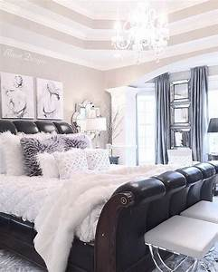 best 25 white and silver bedroom ideas on pinterest With black white and silver bedroom ideas