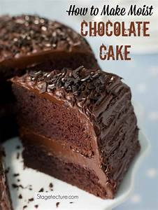 How to Make Moist Chocolate Cake from Scratch