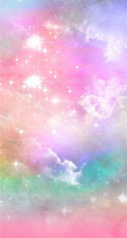 Rainbow Galaxy Pastel Wallpapers Iphone Resolution Background