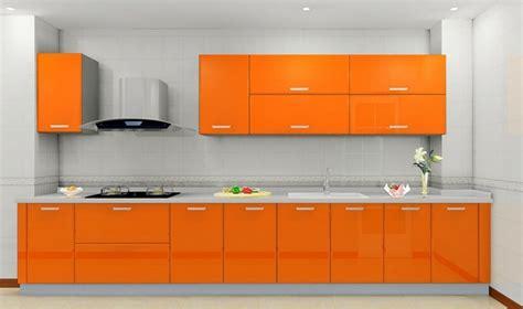 cuisine en orange cuisine couleur orange pour un décor moderne et énergisant