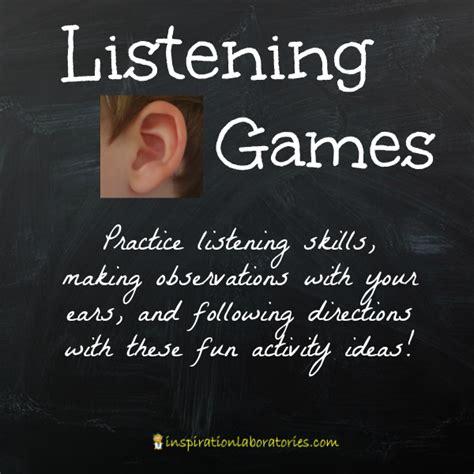 listening skills for preschoolers listening inspiration laboratories 890