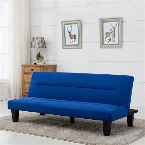 Loveseat Mattress by Microfiber Futon Folding Sofa Bed Sleep Recliner