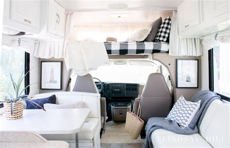 awesome chic rv makeover   brown  boring