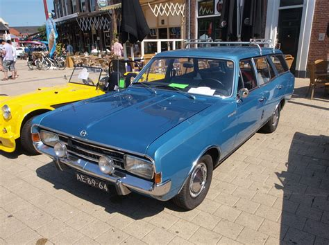 1971 Opel Rekord 1900 Station At The Speciaal Auto