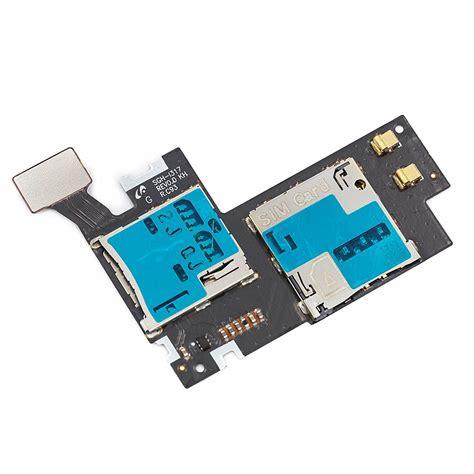 oem  micro sd sim card reader slot tray  samsung