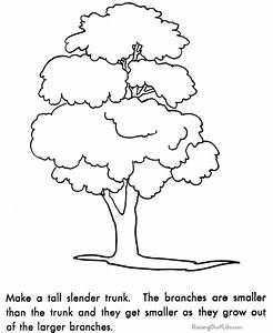 Preschool How to Draw a Tree 078