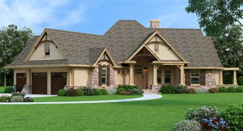Floor Plans With Walkout Basement by Inspiring New House Plans Craftsman House Plans