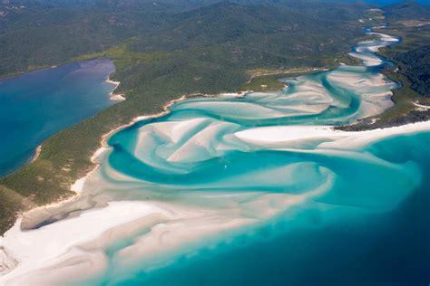 amazing whitehaven beach tourist place  australia hd