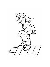 Hopscotch Coloring Pages Activities sketch template