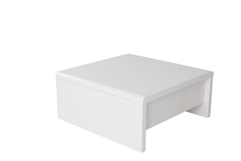 levi table basse carr 233 e relevable laqu 233 e blanche table basse tables consoles salon s 233 jour