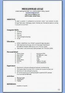 Bio Data Form Pdf