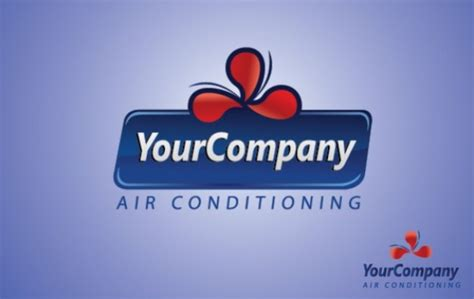 vector air conditioning logo template