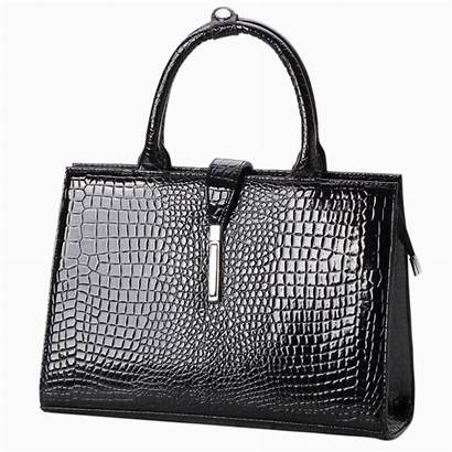 Leather Patent Handbags Sophisticated Faux Purses Purse
