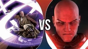 VS | Mace Windu vs Darth Malgus - YouTube
