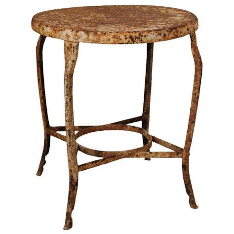 antique metal bistro table at 1stdibs