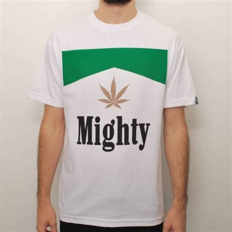 kaos mighty healthy mighty healthy stoge skate t shirt white skate t