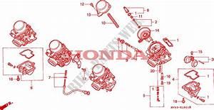 Carburetor  Component Parts  For Honda Cbr 600 F2 Super