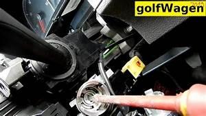 Vw Golf 5 Ignition Lock Cylinder Removal