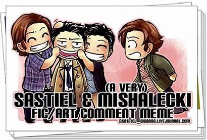 Sastiel Meme Bigbang Livejournal Mishalecki Fic Banner