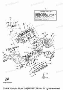 Yamaha Waverunner 2008 Oem Parts Diagram For Crankcase