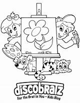 Coloring Disco Getcolorings Creative Printable sketch template