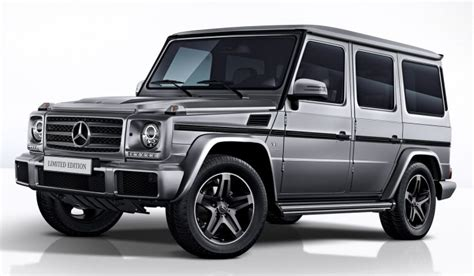 Mercedes-benz G-glass Limited Edition, Three Trims, Only
