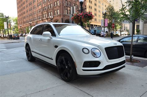 2018 Bentley Bentayga Black Edition Stock # B959s For