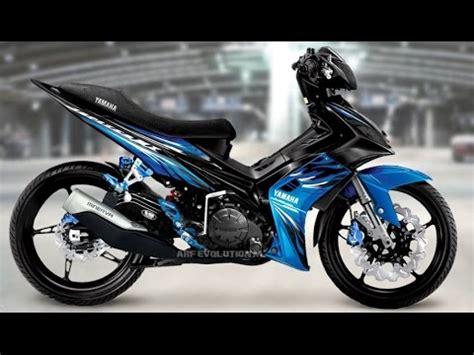 Modifikasi Jupiter Mx Yang Simple by Motor Trend Modifikasi Modifikasi Motor Yamaha