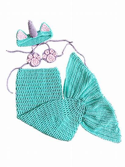 Mermaid Tail Unicorn Ravelry Costume Crochet Pattern