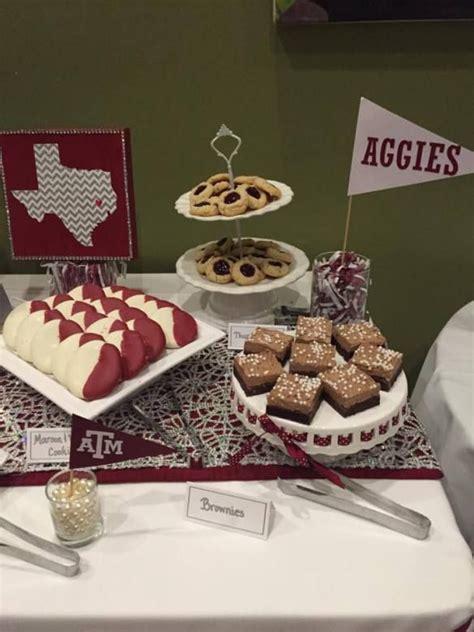graduation party decor dessert table texas  www