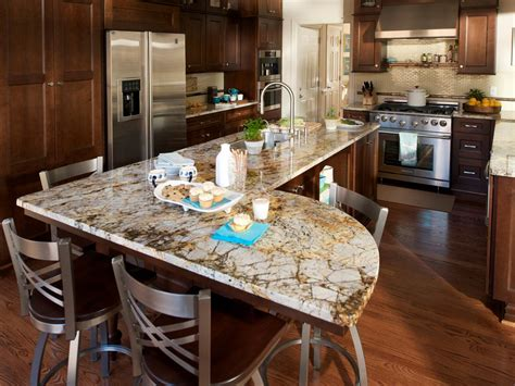 different shapes of kitchen islands a family centered gourmet kitchen hgtv 8693