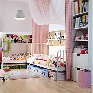 Chambre Ikea Enfant : chambre pour deux enfants comment bien l 39 am nager marie claire ~ Teatrodelosmanantiales.com Idées de Décoration