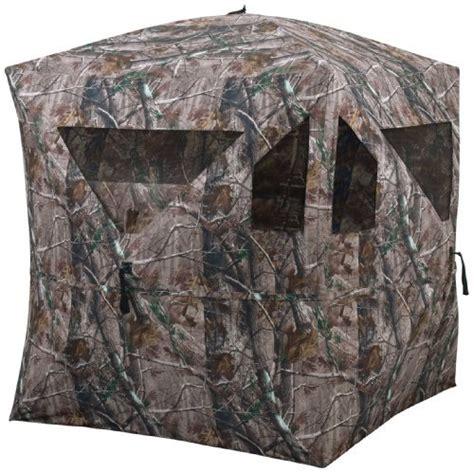 ground blinds for deer new ameristep camo brickhouse custom deluxe ground
