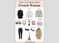 How To Dress Like a French Woman Trendy Wednesday #110