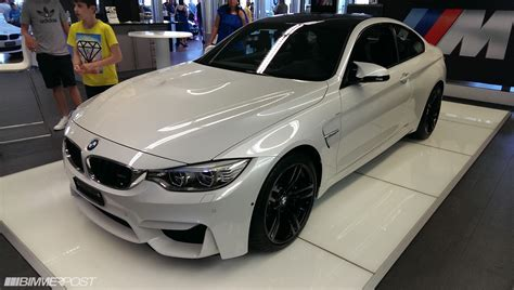 Bmw Mineral White by F82 F83 Official Mineral White M4 Coupe Convertible Thread