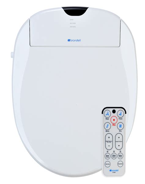 brondell bidets brondell swash 1000 advanced elongated white bidet toilet