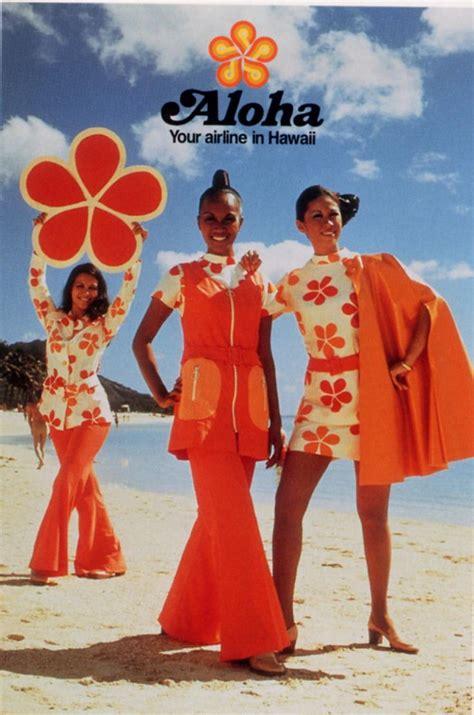 aloha airlines vintage ads