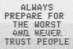 trust nobody | Tumblr