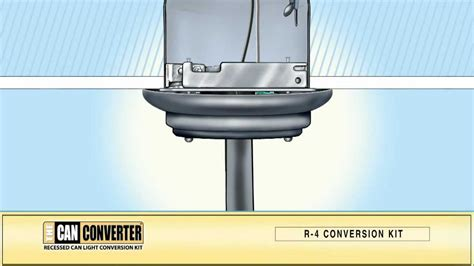 the can converter model r4 how to install pendant