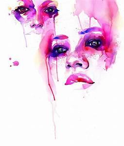 BENG!Buzz: Marion Bolognesi Watercolor Faces