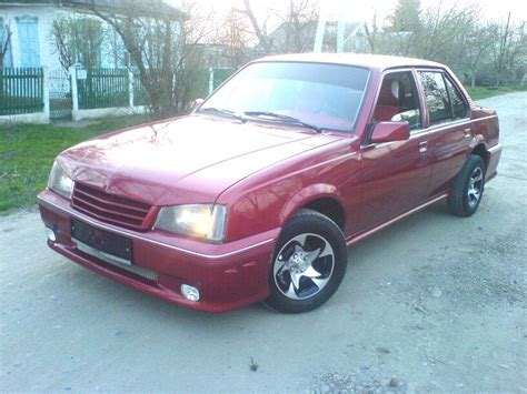 Opel Ascona For Sale by 1986 Opel Ascona Pictures 1600cc Gasoline Ff Manual For Sale