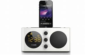 Dockingstation Iphone 5s : philips aj6200d fm alarm clock radio dock docking station for iphone 5 5s 6 6s ebay ~ Orissabook.com Haus und Dekorationen