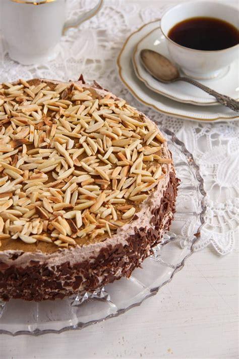 Whisk together sugar, flour, and salt. Polish Almond Coffee Cake - Tort Migdalowy Recipe
