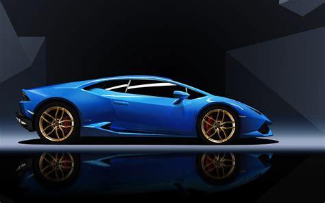 Hd Wallpaper Blue Car by Blue Lamborghini Huracan Wallpaper Hd Car Wallpapers