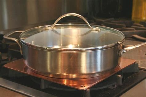 copper heat diffusers  images copper cookware diffuser copper