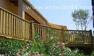 Garde Corps Exterieur Bois : artecbois terrasses en bois en hauteur suspendues ou sur ~ Dailycaller-alerts.com Idées de Décoration