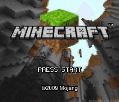 Minecraft Screen Title Gameboy Advance Mojang Gaming