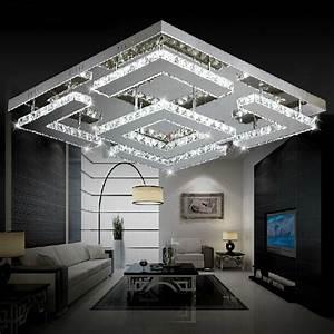 Große Deckenlampen Design : gro e platz design moderne led kristall deckenleuchte f r wohnzimmer lustre de kreise ~ Sanjose-hotels-ca.com Haus und Dekorationen